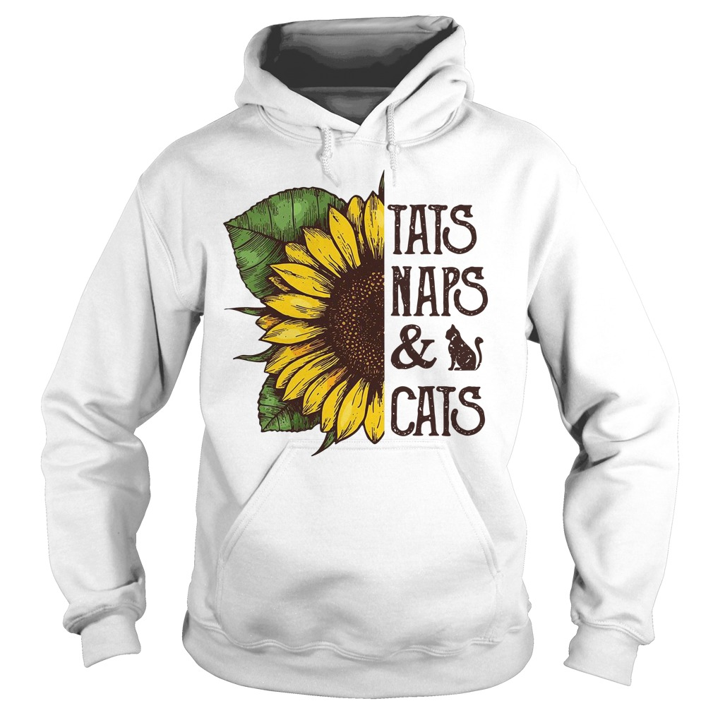 Sunflower Tats Naps & Cats Hoodie