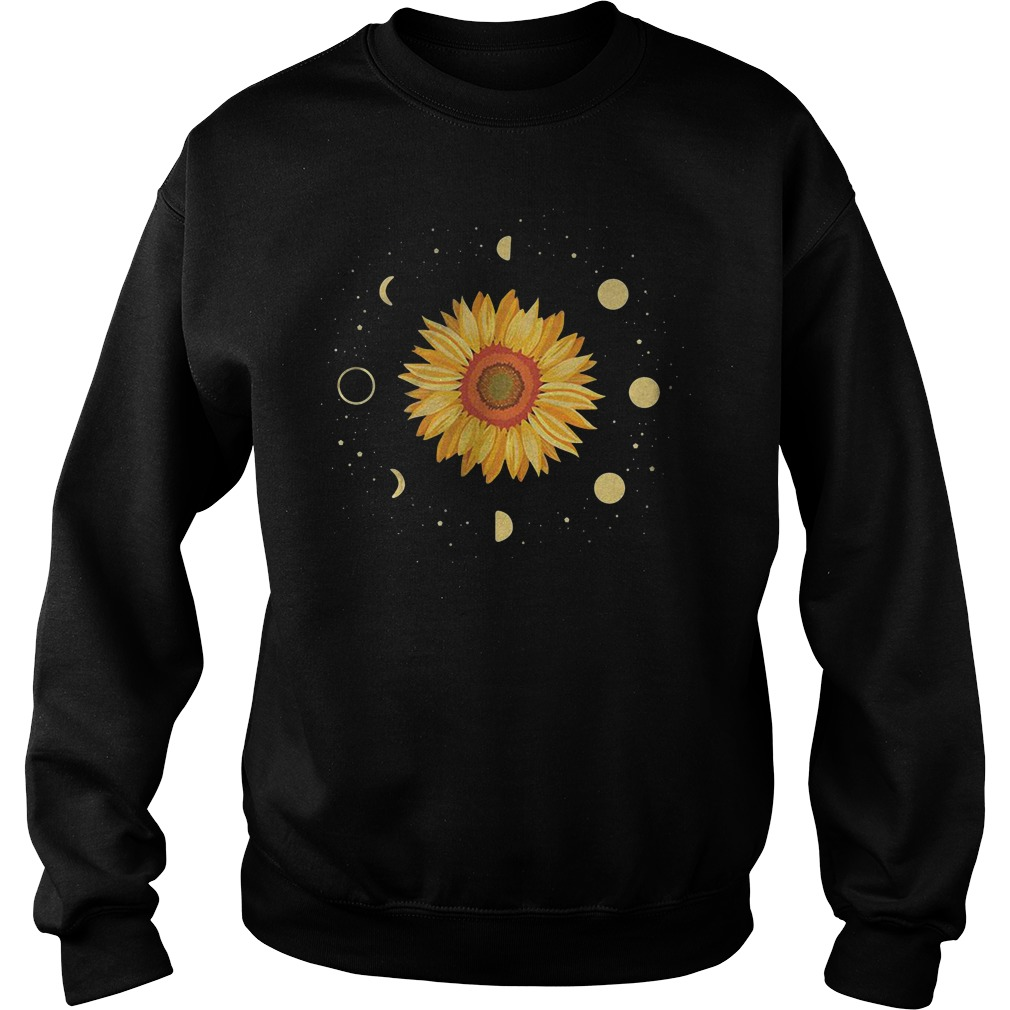 Sunflower Universe In The Galaxy With Planets Sweater