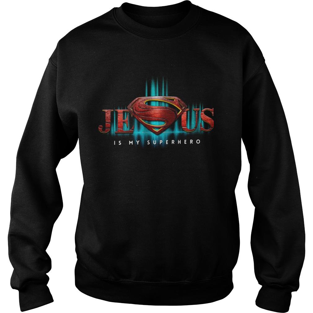Superman Jesus Is My Superhero Sweater