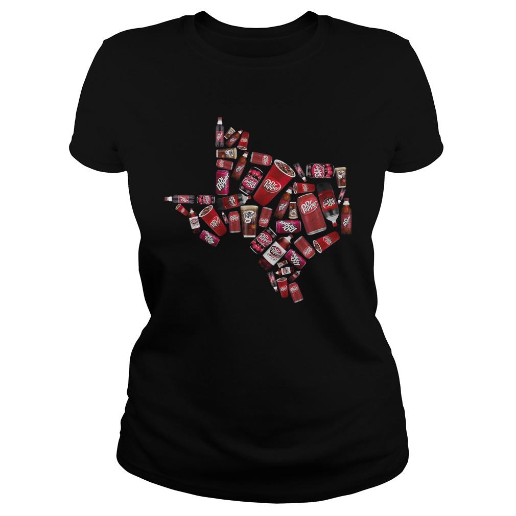 Texas Dr.Pepper Ladies Tee