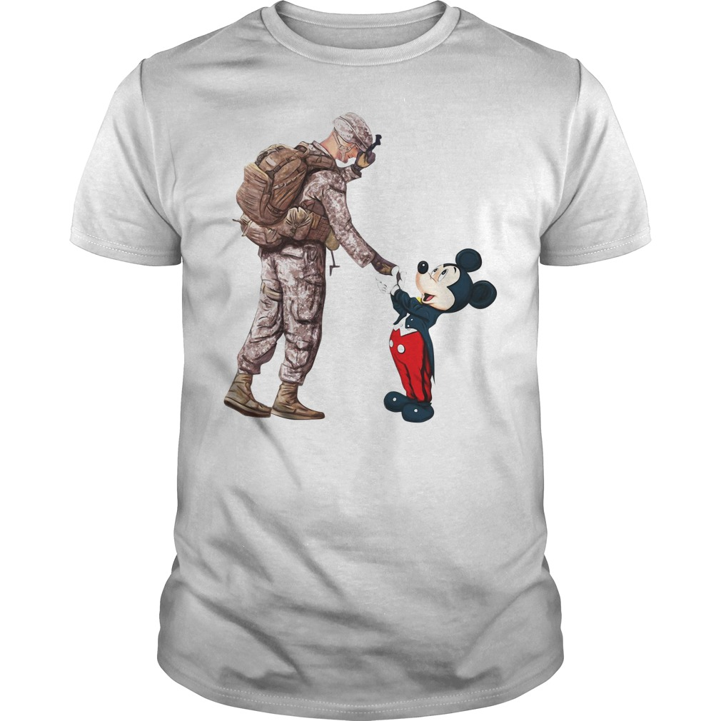 Thankful Veteran Disney Mickey Mouse Guy Tees