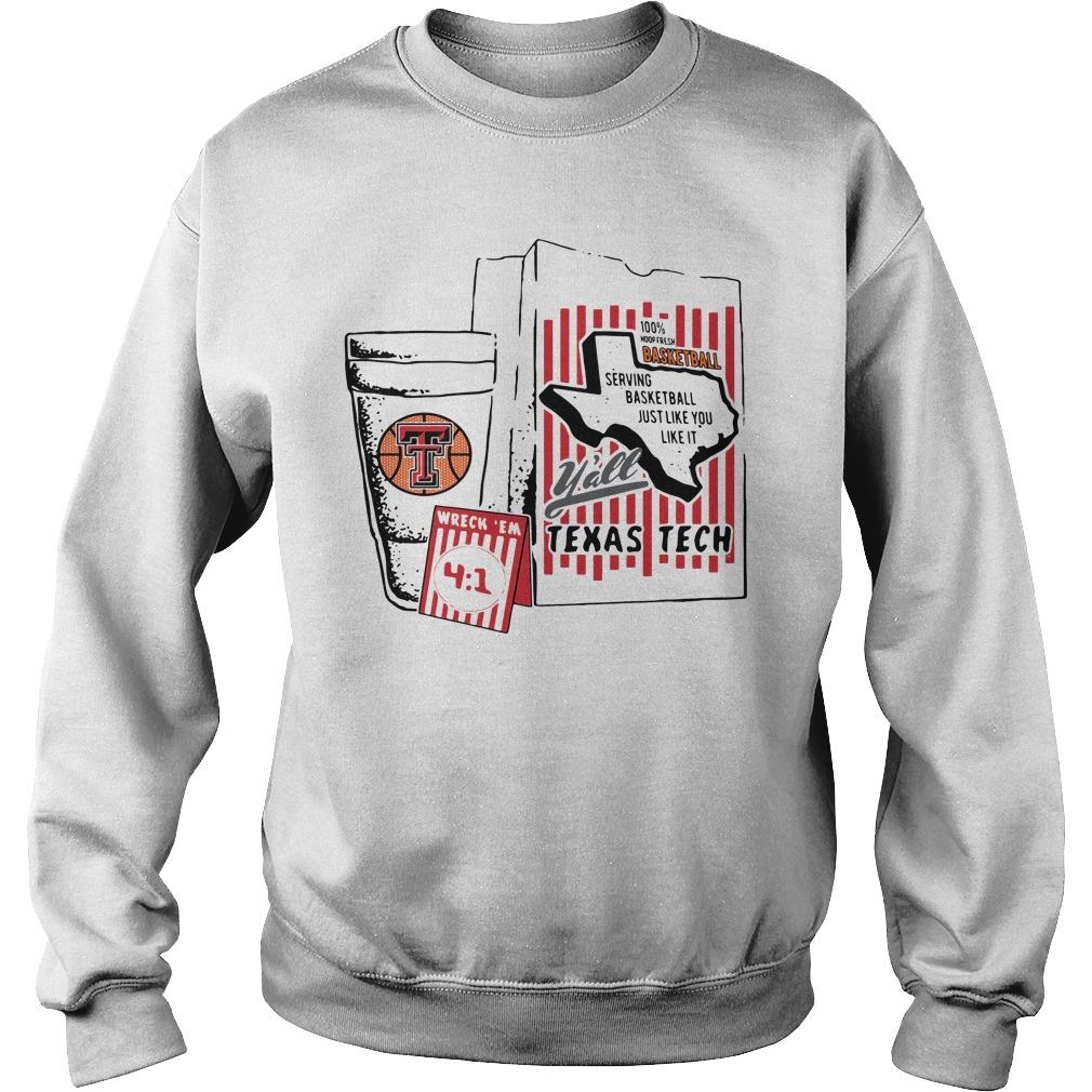 Whataburger Texas Tech Basketball What A Baller Sweater