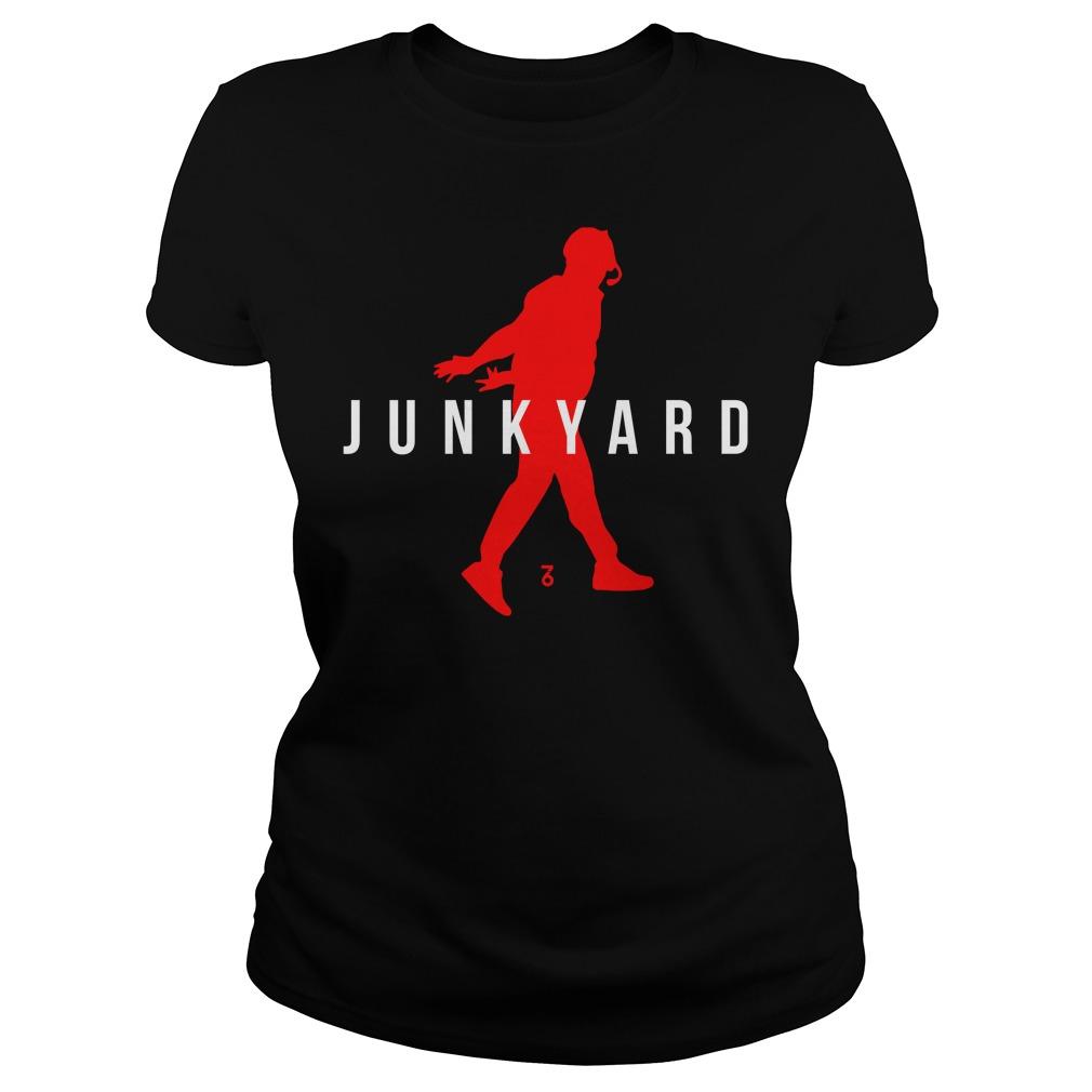 Air Jordan Junkyard Ladies Tee