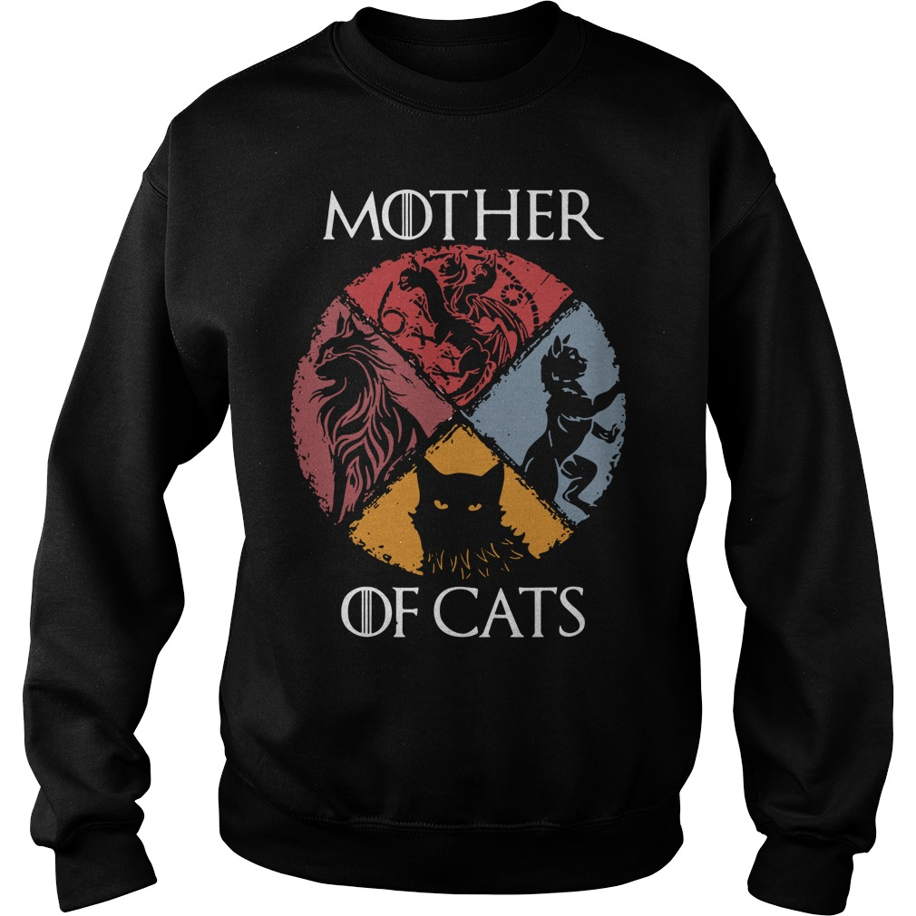 Game Of Thrones Logo Parody Mother Of Cats Sweater