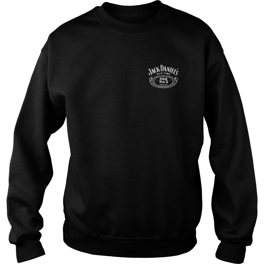 American Flag Jack Daniel'S Sweater