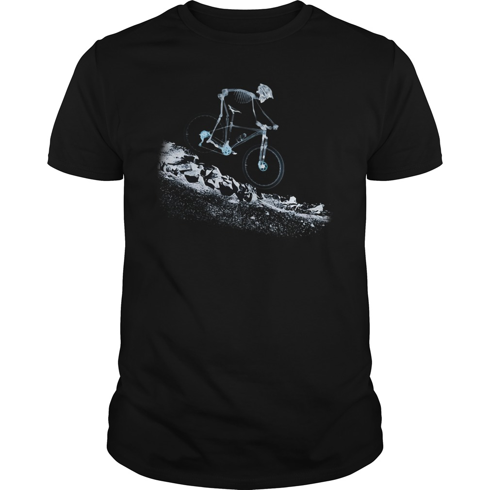 Cycling X-Ray Ride Guy Tees