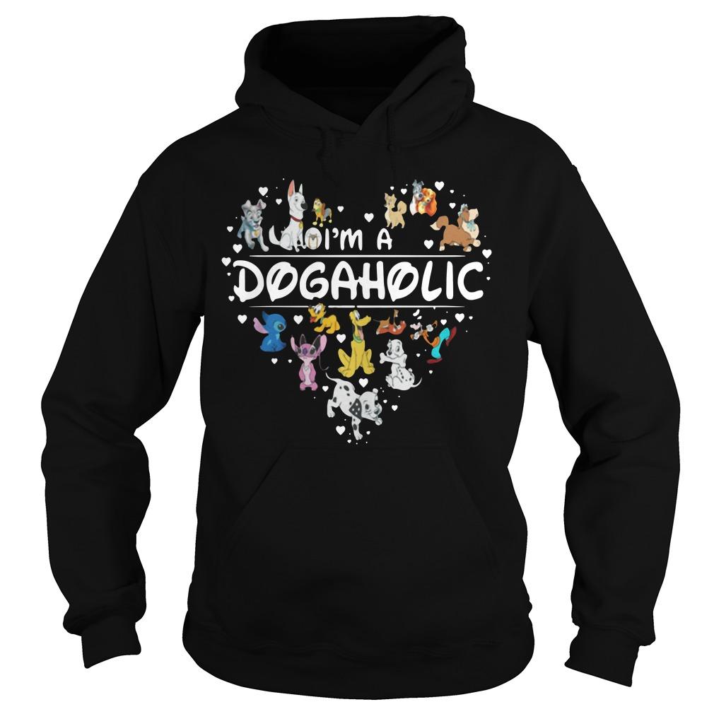 Disney Heart Of Dogs I'M A Dogaholic Hoodie