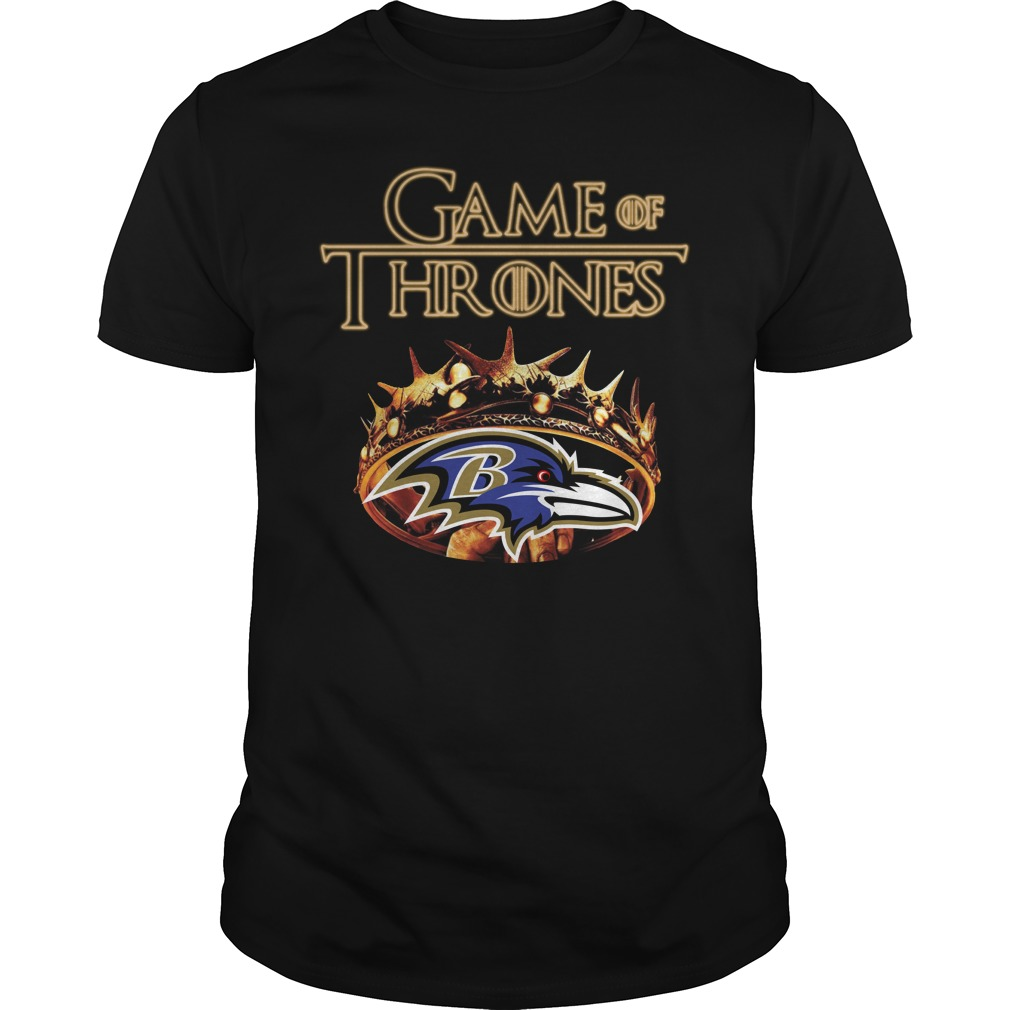 Game Of Thrones Baltimore Ravens Mashup Guy Tees