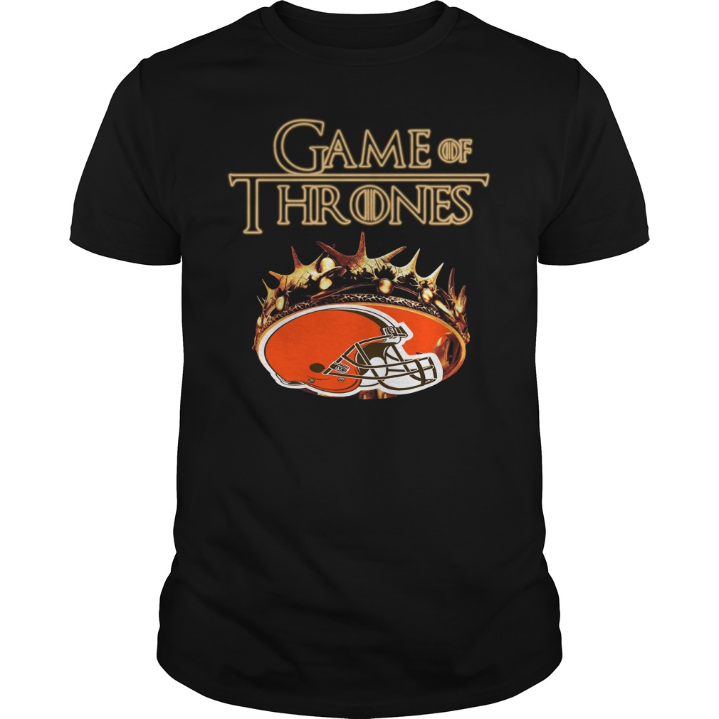 Game Of Thrones Cleveland Browns Mashup Guy Tees