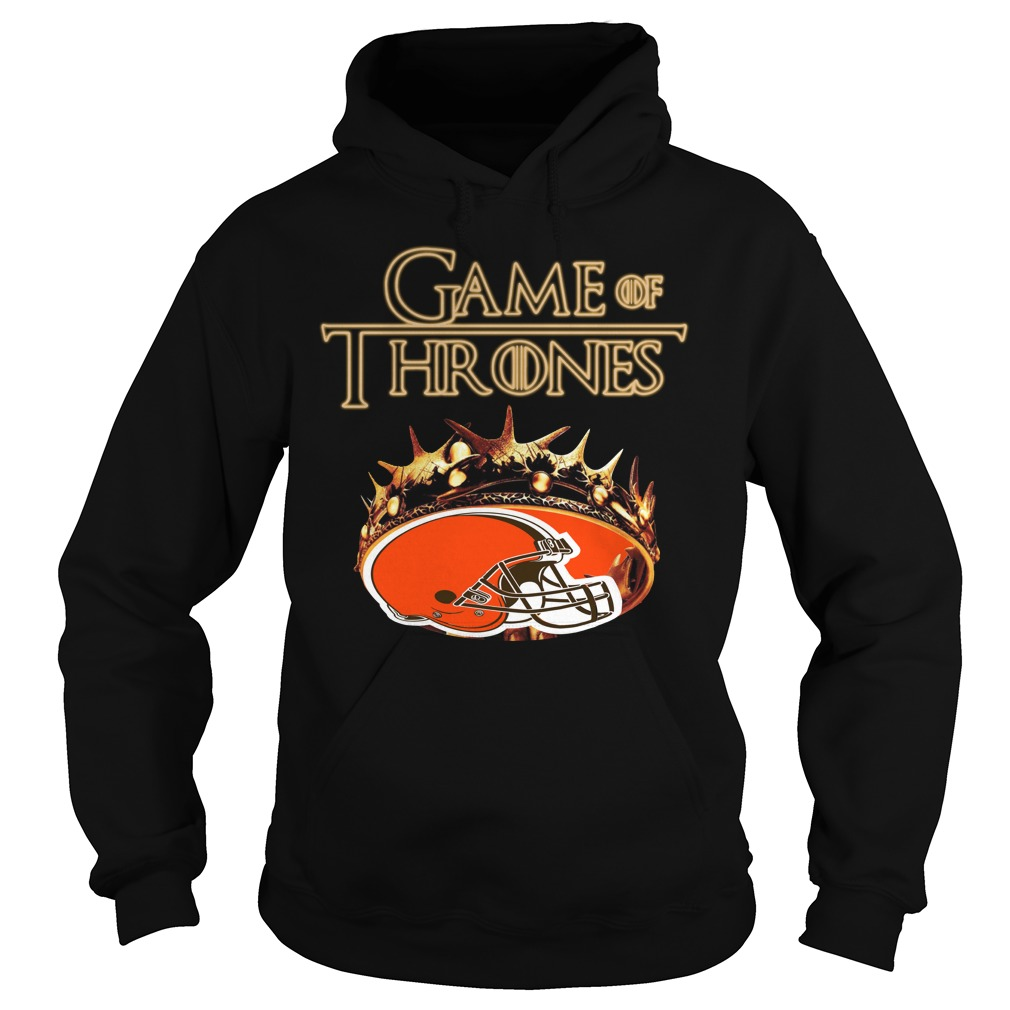 Game Of Thrones Cleveland Browns Mashup Hoodie