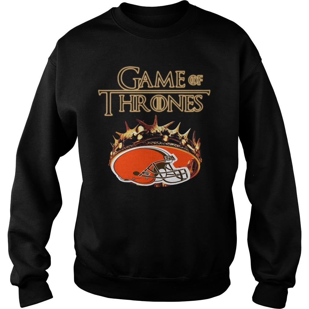 Game Of Thrones Cleveland Browns Mashup Sweater