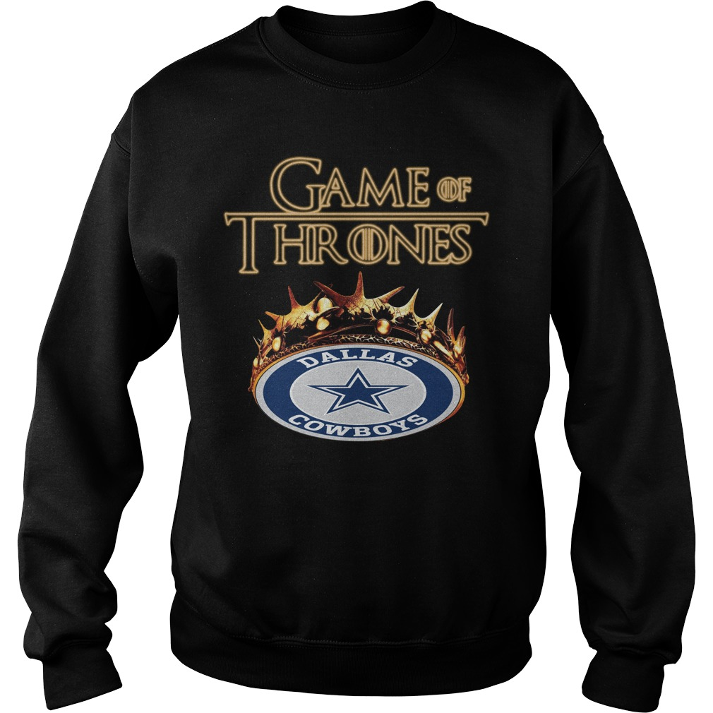 Game Of Thrones Dallas Cowboys Mashup Sweater