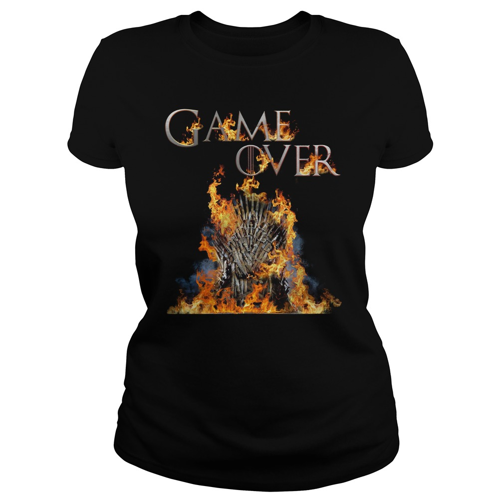 Game Of Thrones Game Over Ladies Tee