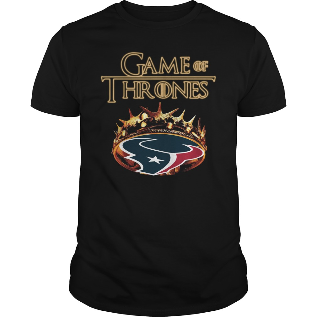 Game Of Thrones Houston Texans Mashup Guy Tees