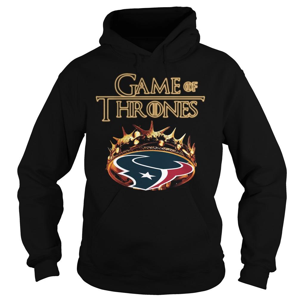 Game Of Thrones Houston Texans Mashup Hoodie