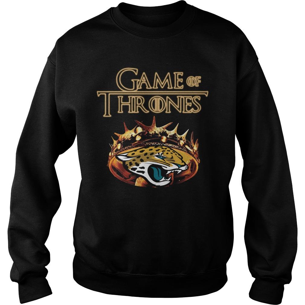 Game Of Thrones Jacksonville Jaguars Mashup Sweater