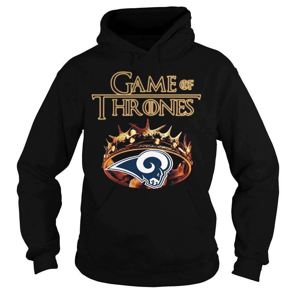 Game Of Thrones Los Angeles Rams Mashup Hoodie