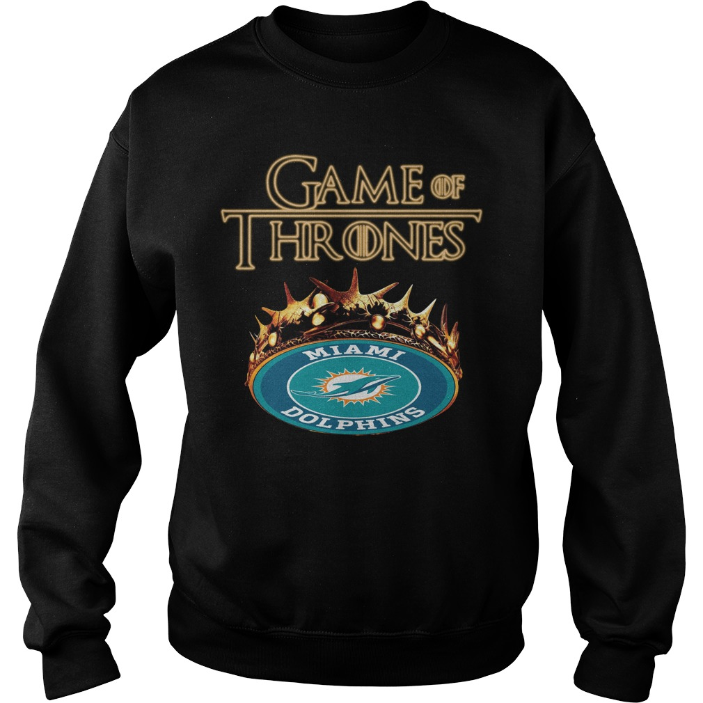 Game Of Thrones Miami Dolphins Mashup Sweater