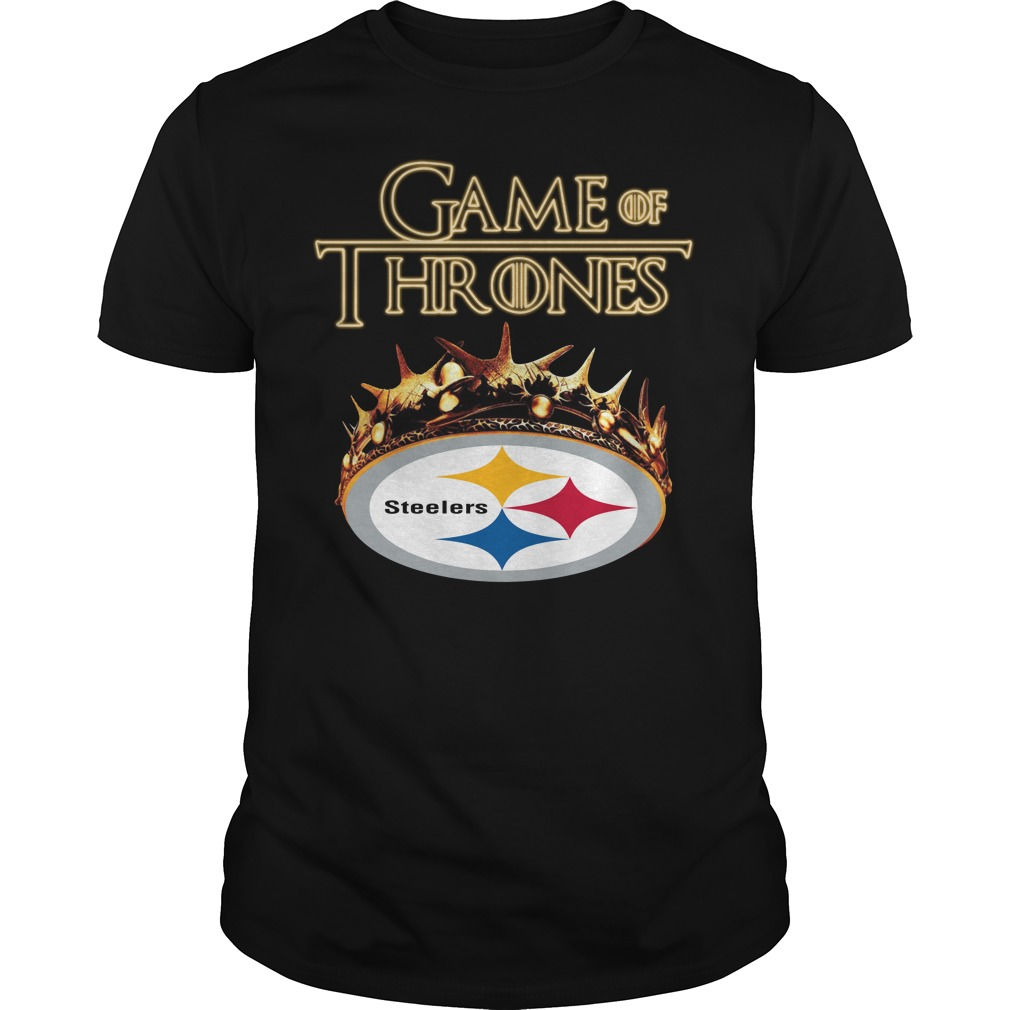 Game Of Thrones Pittsburgh Steelers Mashup Guy Tees