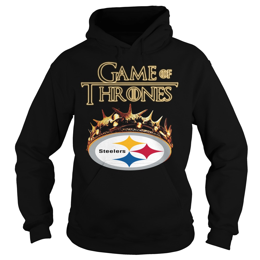 Game Of Thrones Pittsburgh Steelers Mashup Hoodie