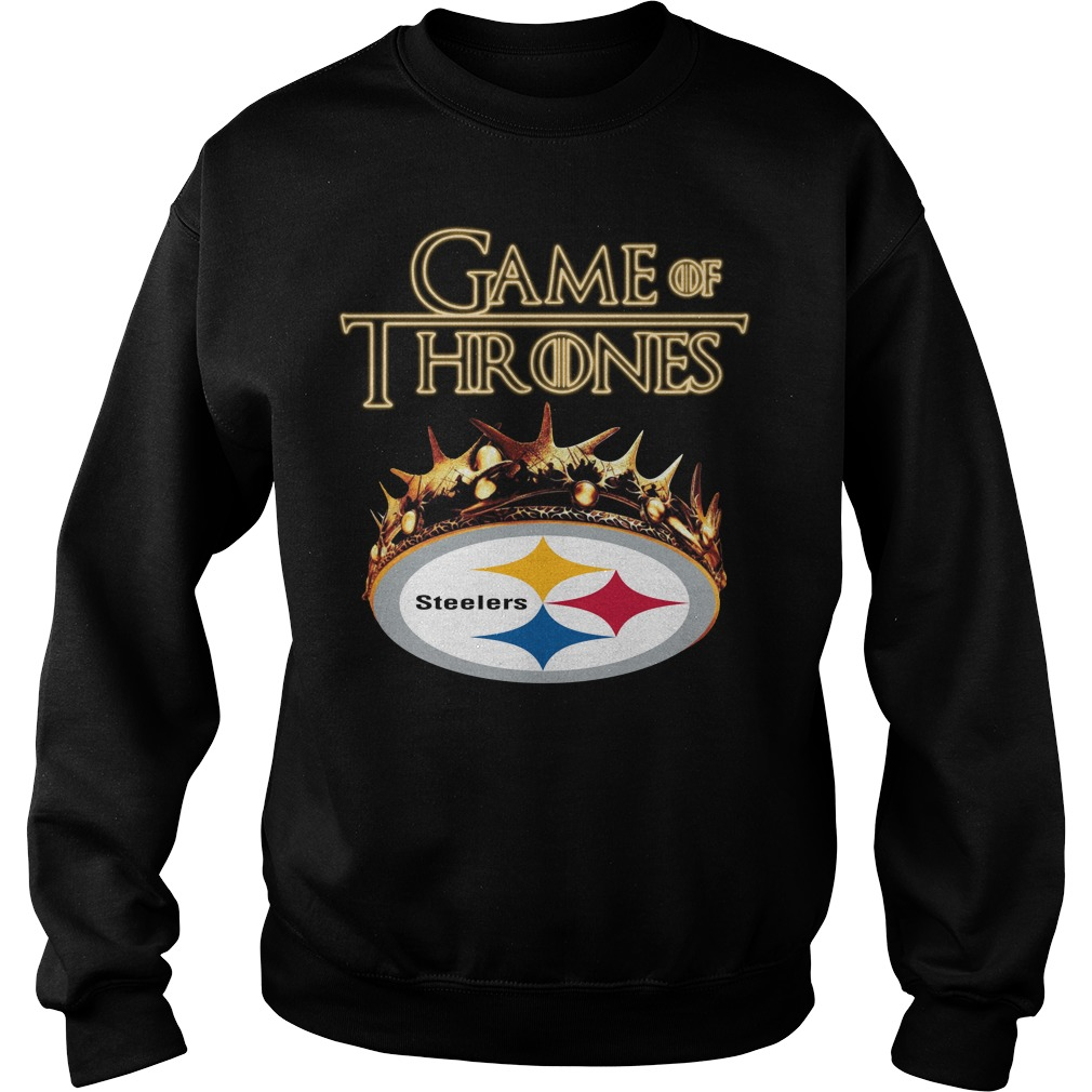 Game Of Thrones Pittsburgh Steelers Mashup Sweater
