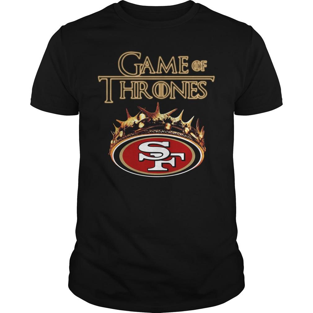 Game Of Thrones San Francisco 49Ers Mashup Guy Tees