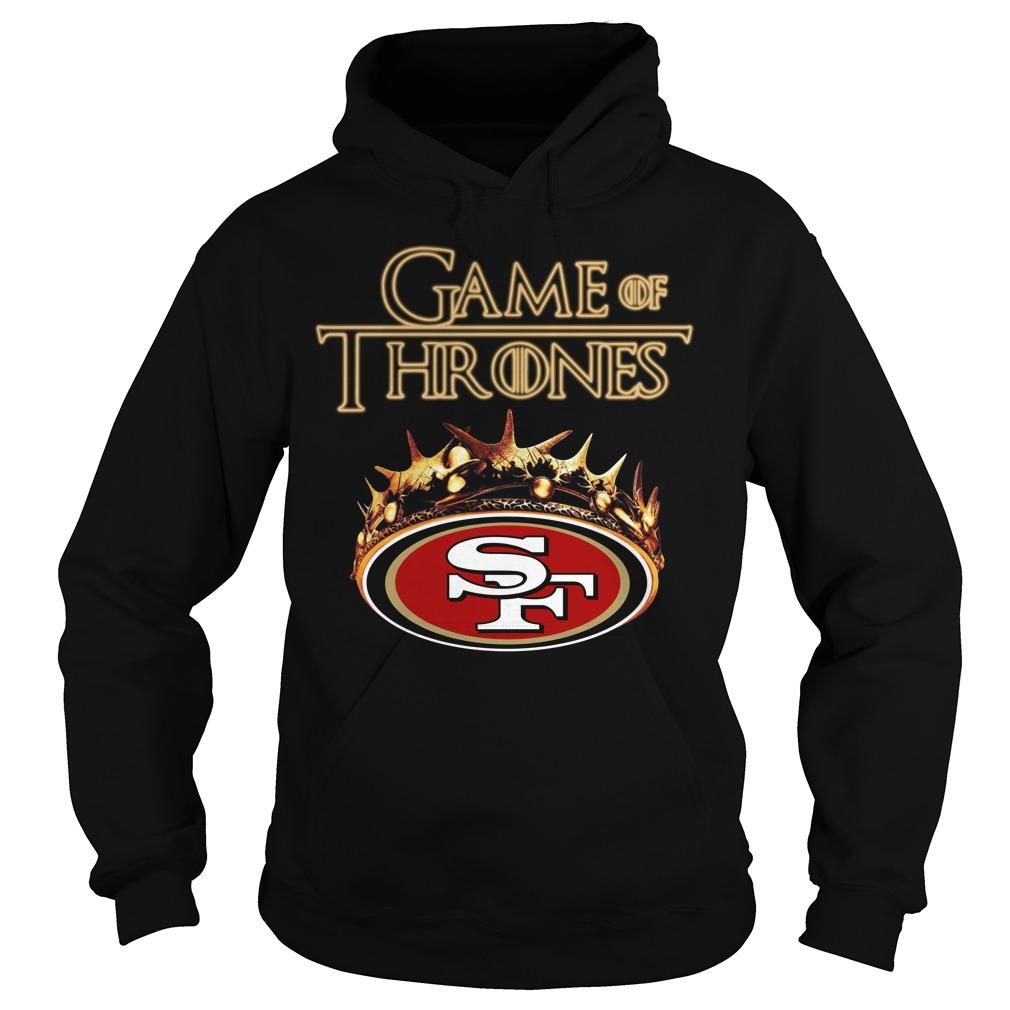 Game Of Thrones San Francisco 49Ers Mashup Hoodie