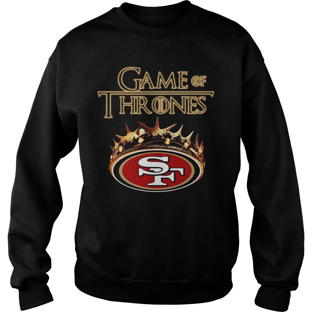 Game Of Thrones San Francisco 49Ers Mashup Sweater