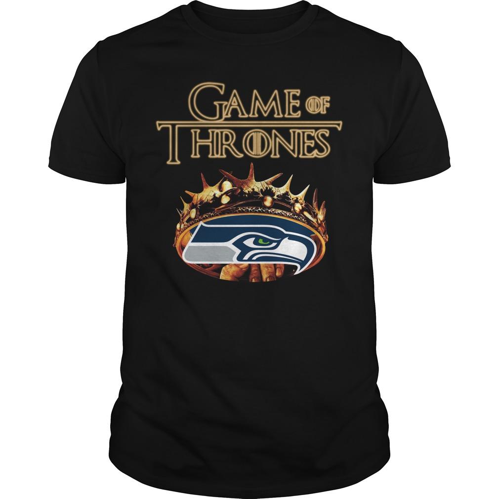Game Of Thrones Seattle Seahawks Mashup Guy Tees