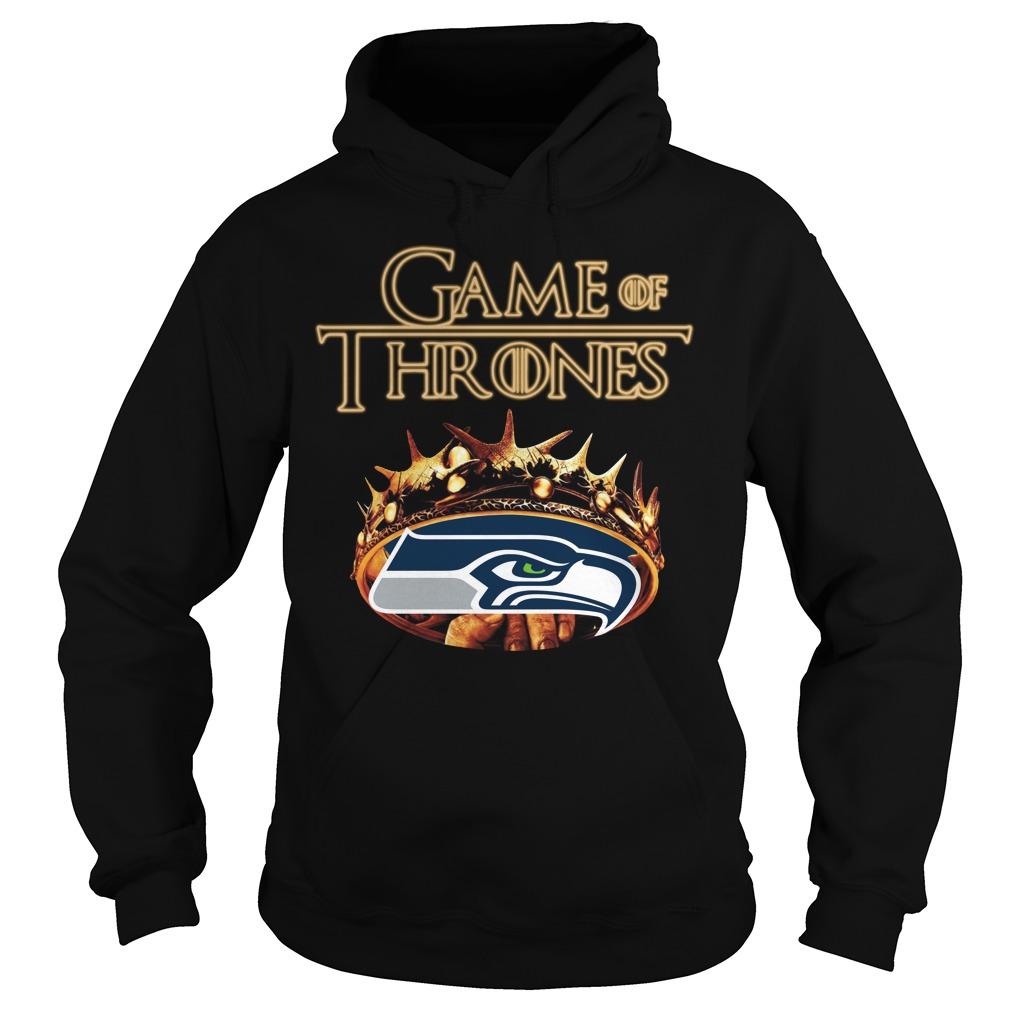 Game Of Thrones Seattle Seahawks Mashup Hoodie