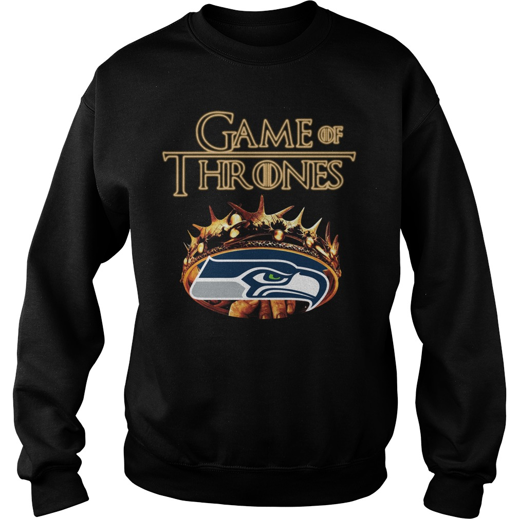 Game Of Thrones Seattle Seahawks Mashup Sweater