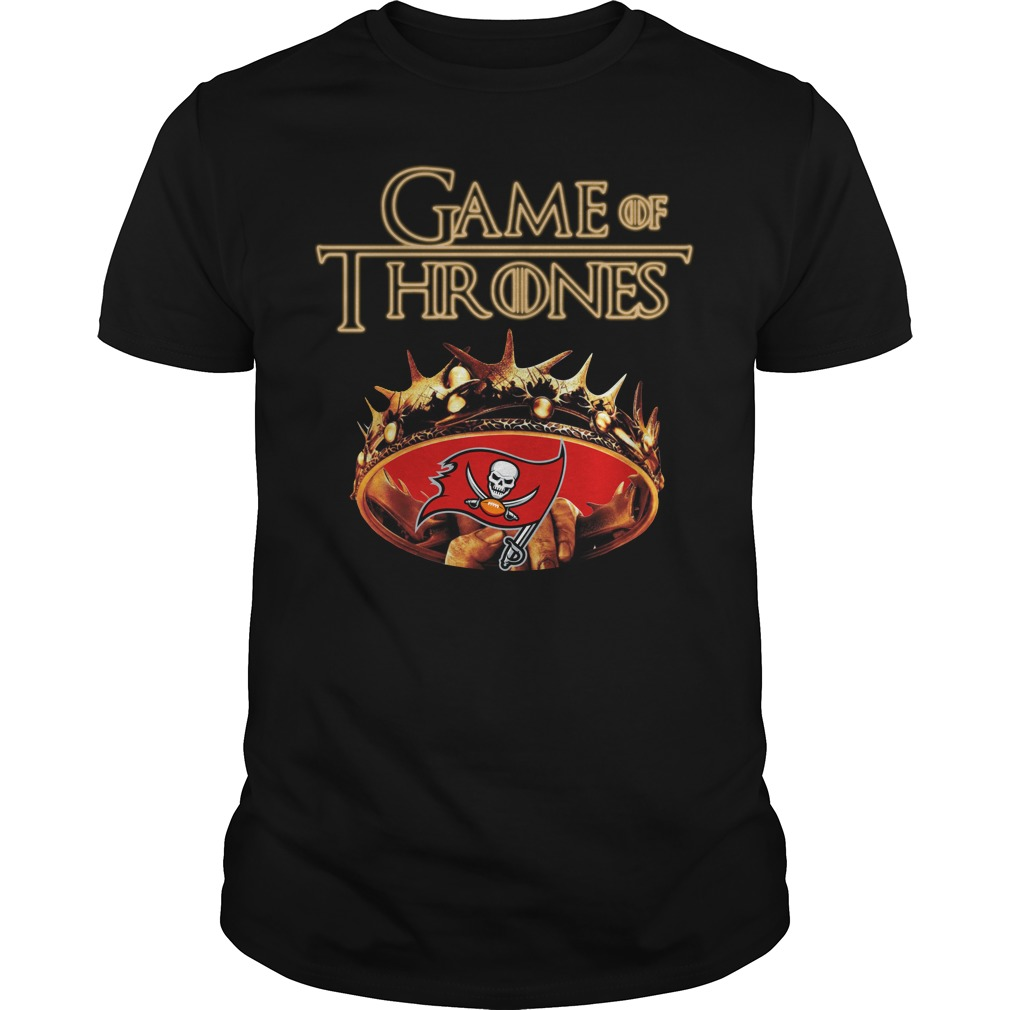 Game Of Thrones Tampa Bay Buccaneers Mashup Guy Tees