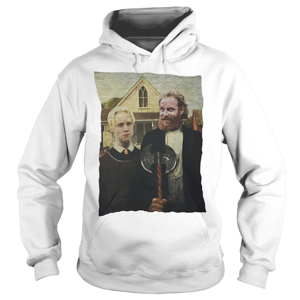 Game Of Thrones Tormund And Brienne Westeros Gothic Hoodie