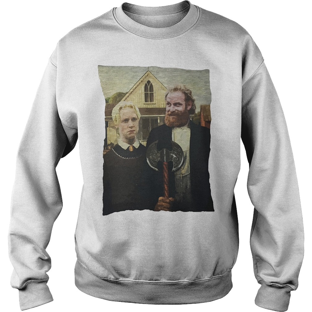 Game Of Thrones Tormund And Brienne Westeros Gothic Sweater