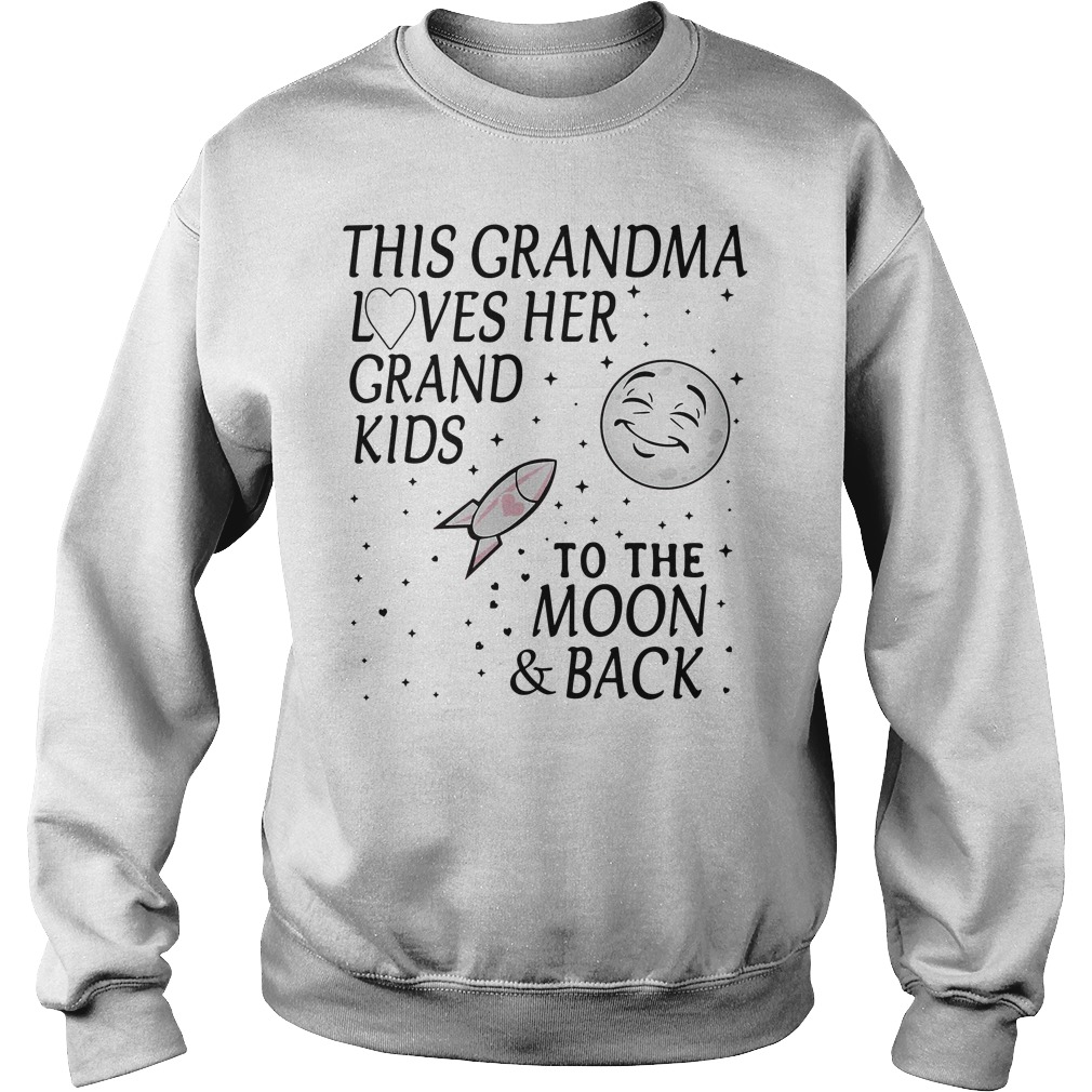 This Grandmaca Loves Her Grandkids To The Moon & Back Sweater