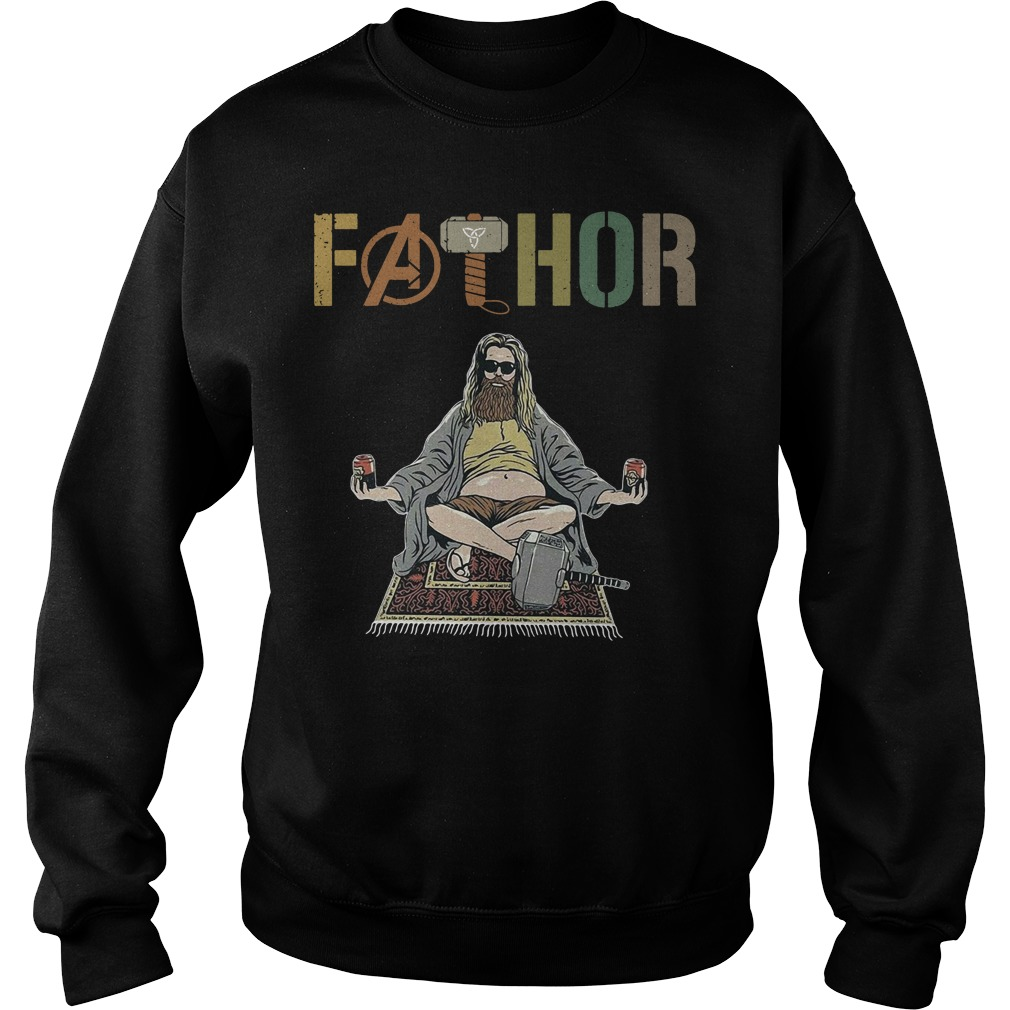 Marvel Avenger Endgame Fat Thor Fathor Sweater
