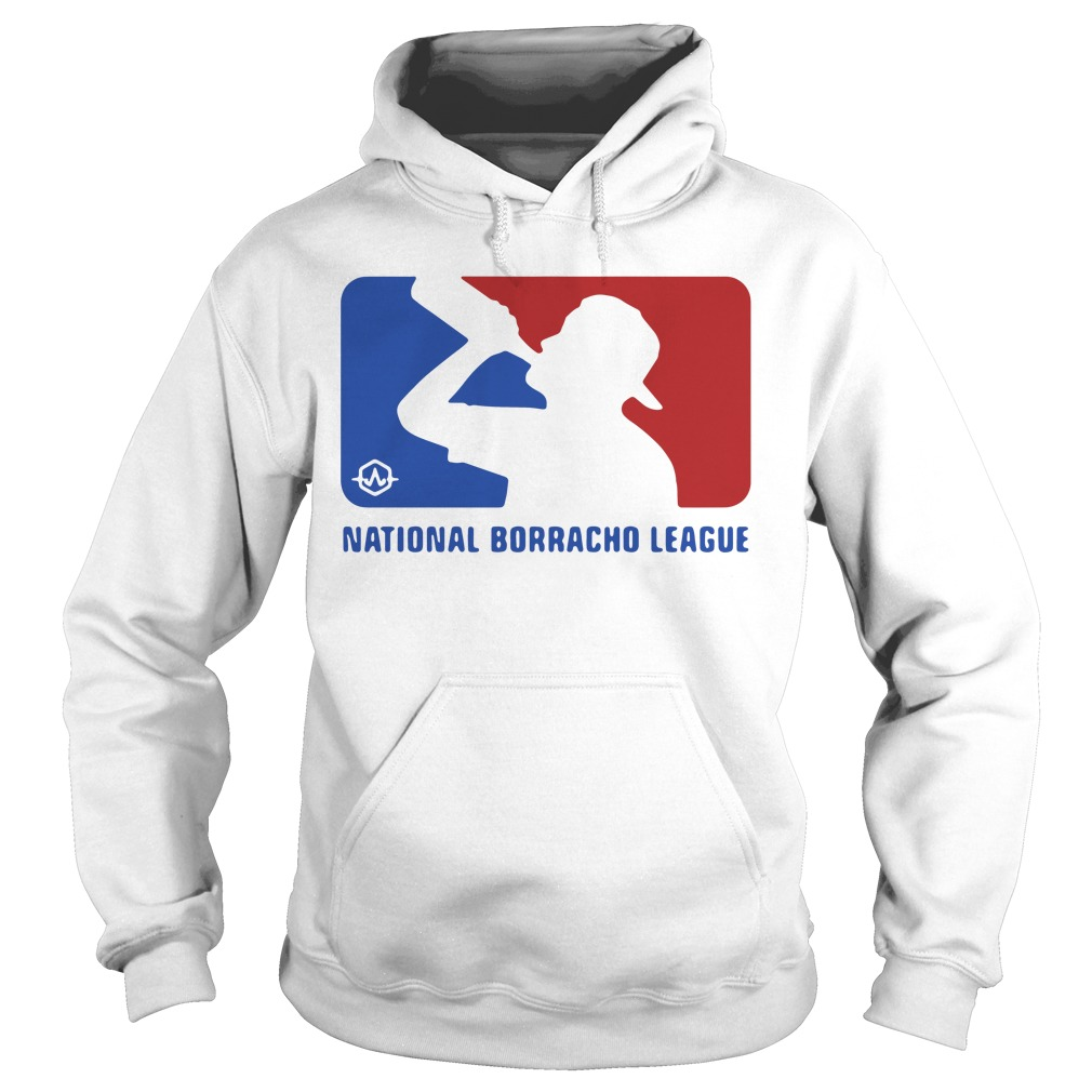 National Borracho League Funny Beer Drinking Hoodie