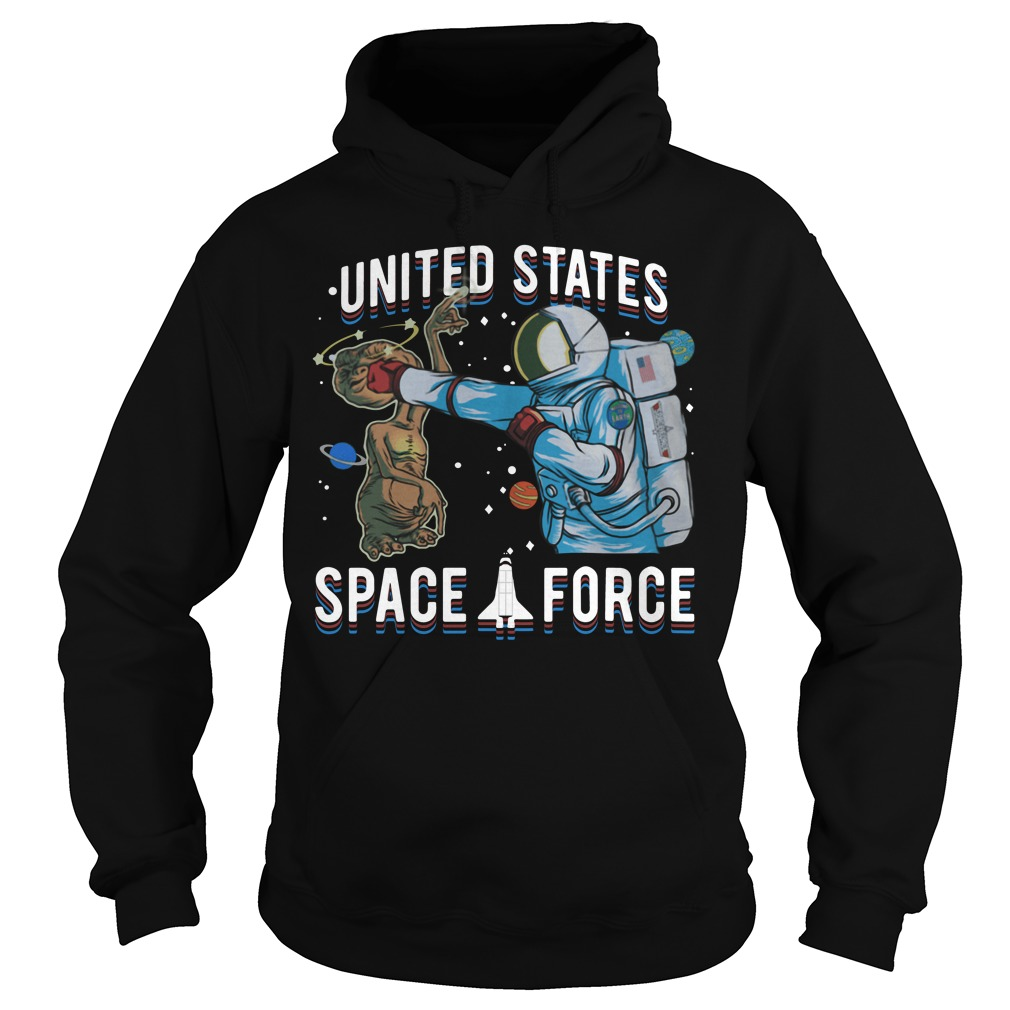 Space Force E.T. Alien Patrol Parody United States Space Force Hoodie