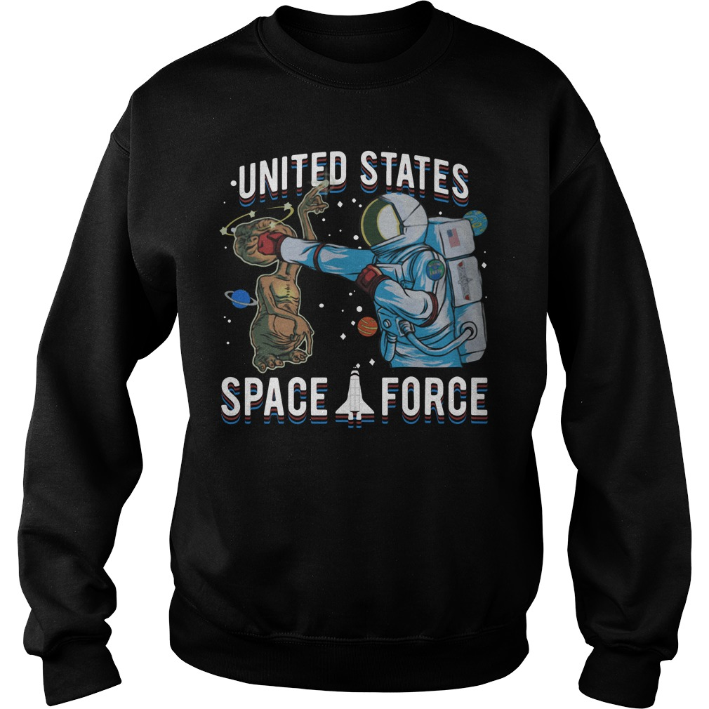 Space Force E.T. Alien Patrol Parody United States Space Force Sweater