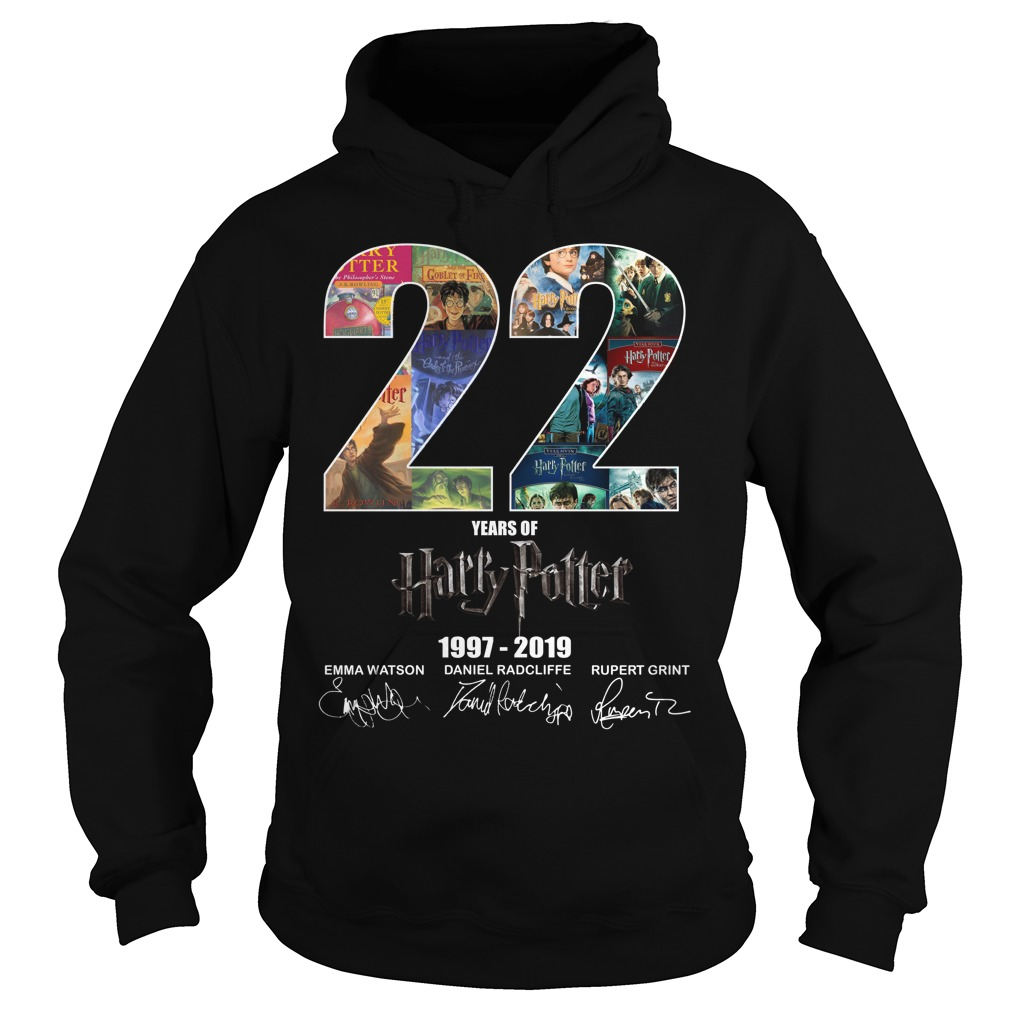 22 Years Of Harry Potter 1997-2019 Signature Hoodie