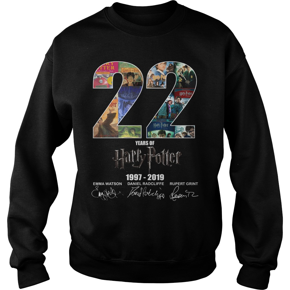 22 Years Of Harry Potter 1997-2019 Signature Sweater