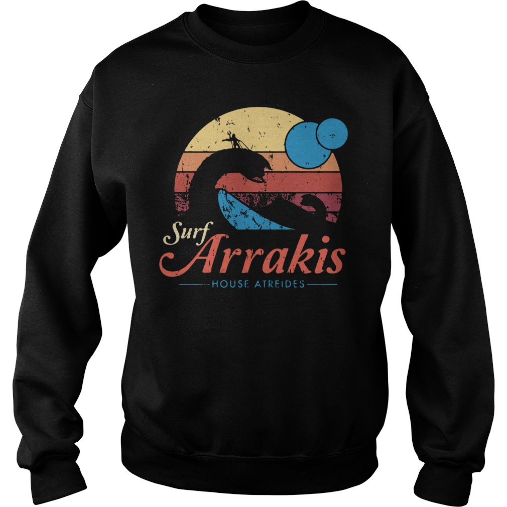 Aquaman Surf Arrakis House Atreides Sweater