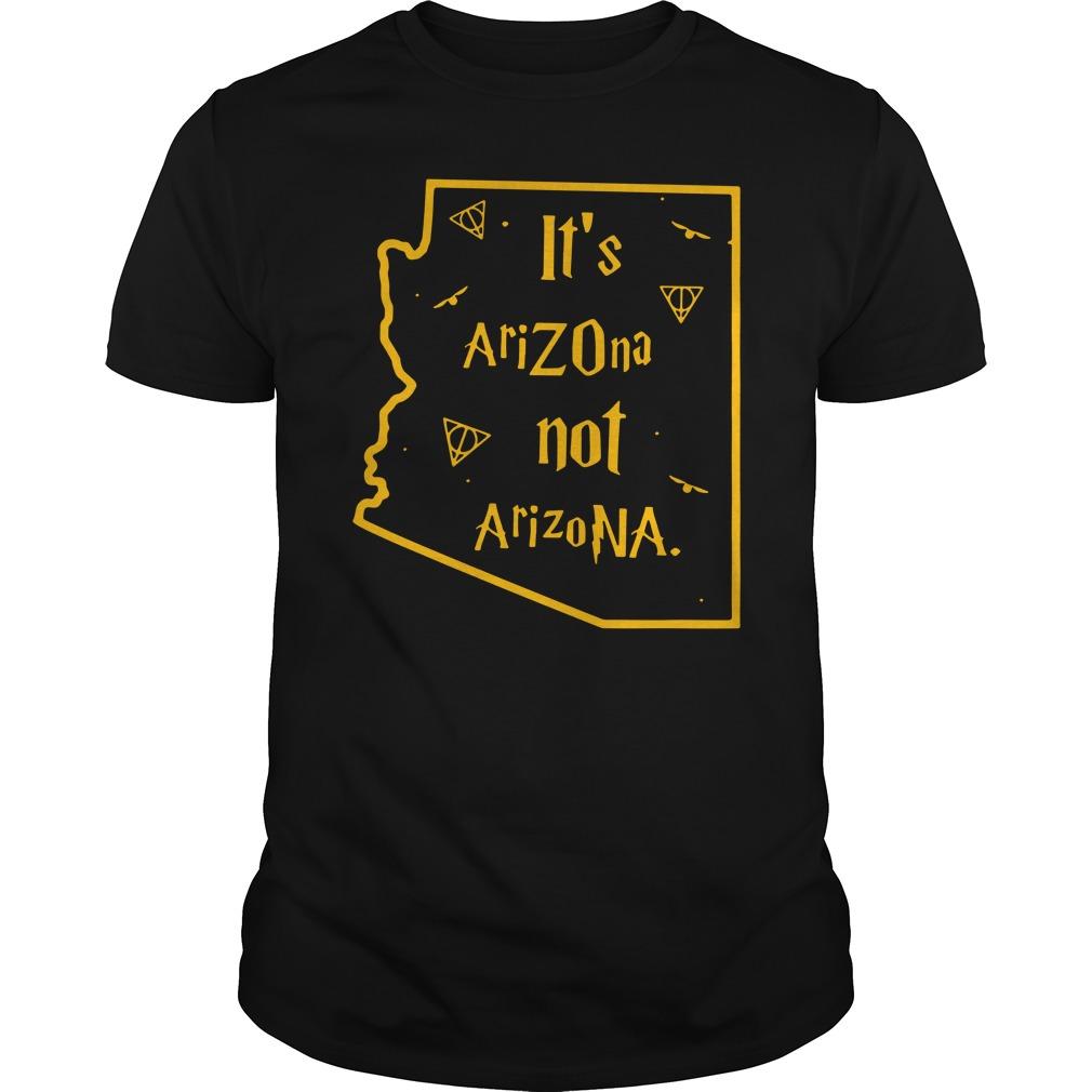Harry Potter It'S Arizona Not Arizona Guy Tees