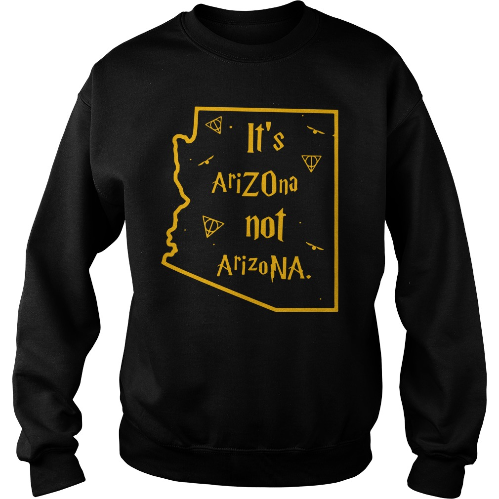 Harry Potter It'S Arizona Not Arizona Sweater