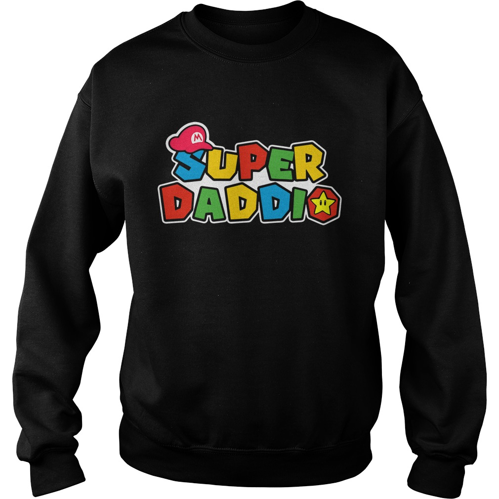 Mario Super Daddio Sweater