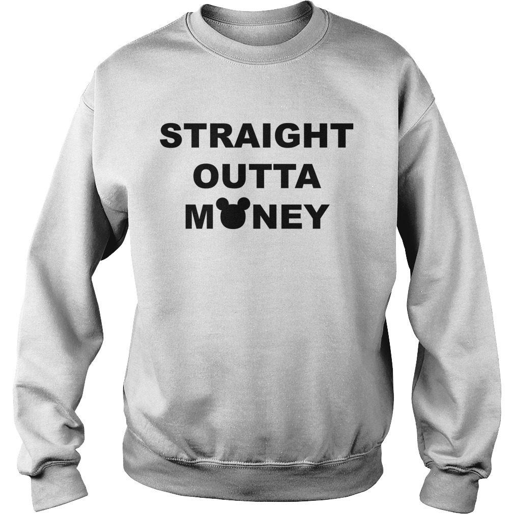 Mickey Straight Outta Money Sweater