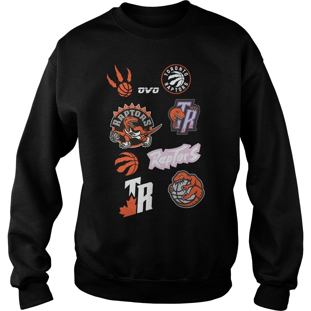 New Ovo Toronto Raptors Sweater