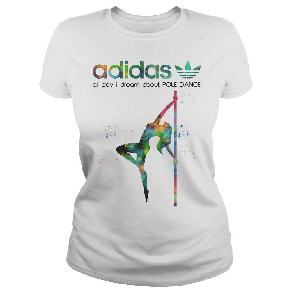 Pole Adidas All Day I Dream About Pole Dance Ladies Tee