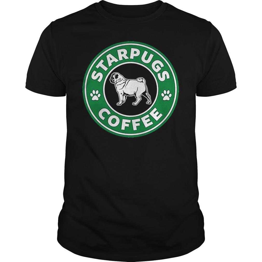 Pug Starpugs Coffee Guy Tees