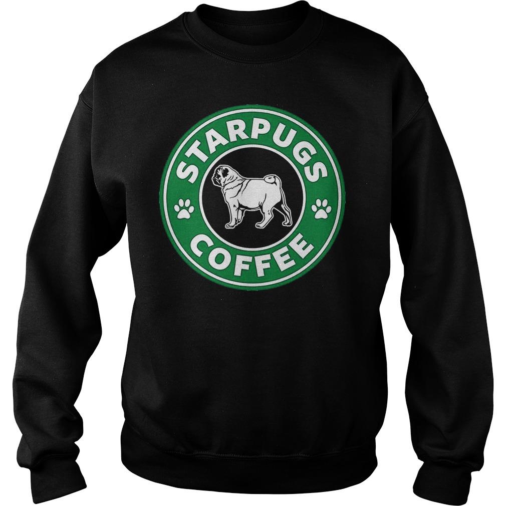 Pug Starpugs Coffee Sweater